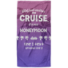 Personalized Honeymoon Cruise Towel - personalized camping sign