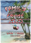 New Family Cruise 2020 Flag - personalized camping sign