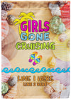 Girls Gone Cruising Flag - personalized camping sign