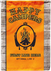 Personalized Happy Campers Rolling Papers Flag
