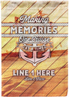Making Memories One Cruise At A Time Flag - personalized camping sign