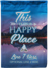 *NEW* This Is Our Happy Place Camping Flag