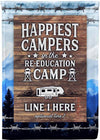 Happiest Campers in the Reeducation Camp
