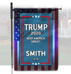 Personalized Trump Garden Flag