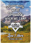 *NEW* Apparently We're Trouble Camping Flag