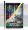 Personalized Veteran Flag for Army Veterans