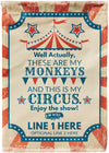 🎪 *NEW* These Are My Monkeys and This is My Circus Flag