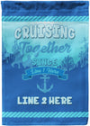 Personalized Cruising Together Cruising Flag