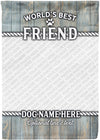 Amazing Personalized Photo Dog Flag for Pet Lovers! - personalized camping sign