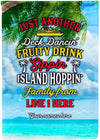 Just Another Awesome Cruise Family From - personalized camping sign