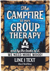 Camping is our Therapy Awesome Camping Flag - personalized camping sign