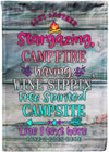 Adorable Campsite Flag! - personalized camping sign