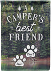 Campers Best Friend Camping Flag - personalized camping sign