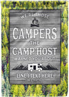 *HOT* Funny Camping Warning Flag - personalized camping sign
