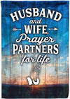 Husband and Wife Prayer Partners for Life - personalized camping sign