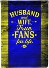 Husband and Wife True Fans for Life! - personalized camping sign