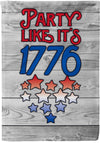 Party Like it's 1776 - personalized camping sign