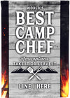 🍴 Worlds Best Camp Chef Camping Flag