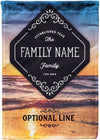 Awesome Personalized Family Name Mailbox Flag