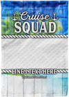 Awesome Cruise Squad Personalized Photo Flag! - personalized camping sign