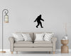 Sasquatch Interior Wall Decal Kit - personalized camping sign