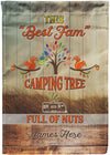 Custom Flag Design - personalized camping sign