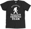 Official Sasquatch Drinking Team Shirt! - personalized camping sign