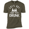 Let's Get ____Drunk Premium T-Shirt - personalized camping sign