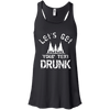 Let's Get _____ Drunk Racerback Tank - personalized camping sign