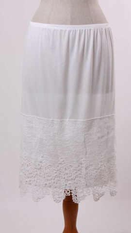 Plus Size Ivory Large Panel Slip Extender