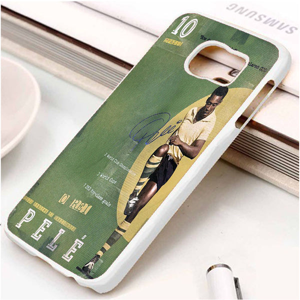 10 Pele Brazil Legend Football Samsung S7 || Samsung S7 Edge - phone case story