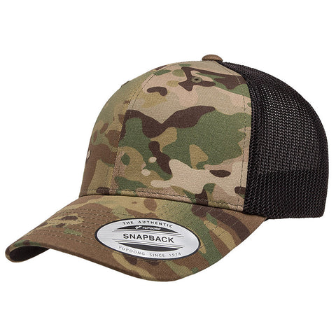 Flexfit Multicam Trucker