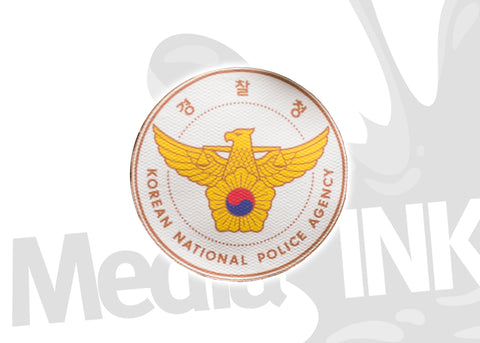 Insigne Police National Coréenne | Korean National Police Agency Badge