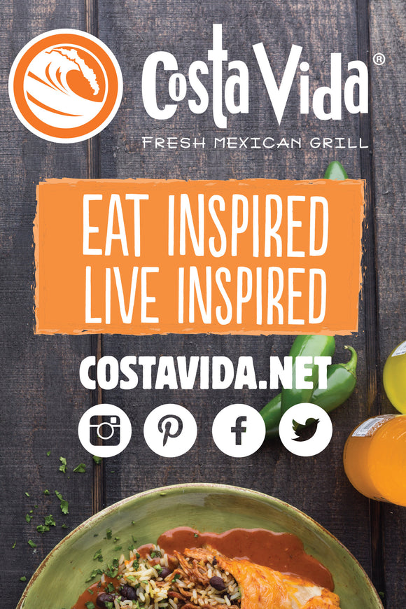 Costa Vida Fresh Mexican Grill.