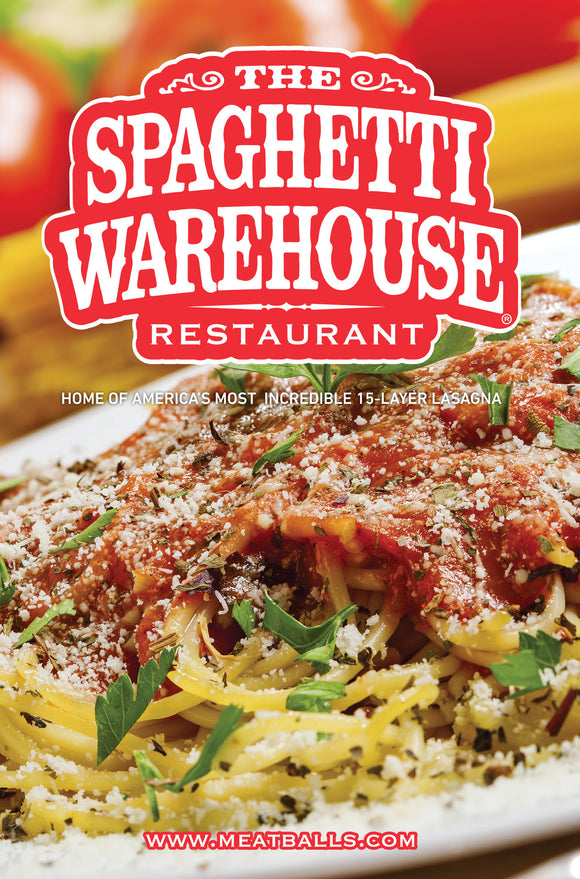 Spaghetti Warehouse.