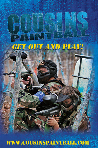 Cousins Paintball