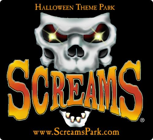 Screams Halloween Theme Park.