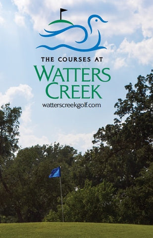 Course of Watters Creek