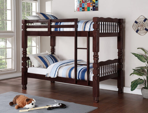 Java Twin Twin Bunk Bed - Furniture App Online by Furniture Assistant  a Furniture Store in York PA