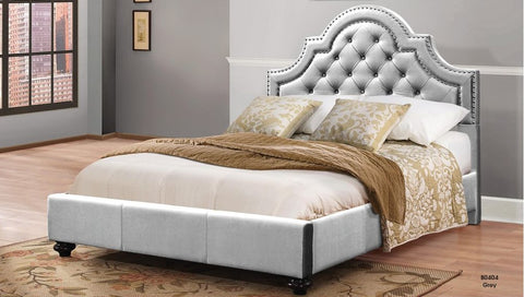 Grey Upholstered Bed - Furniture App Online by Furniture Assistant  a Furniture Store in York PA