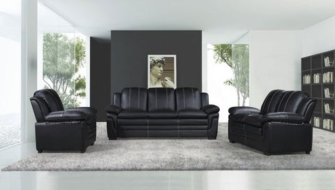 Black Leather Living Room Set - Furniture App Online by Furniture Assistant  a Furniture Store in York PA