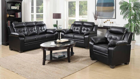 Black Leather Sofa Set - Furniture App Online by Furniture Assistant  a Furniture Store in York PA