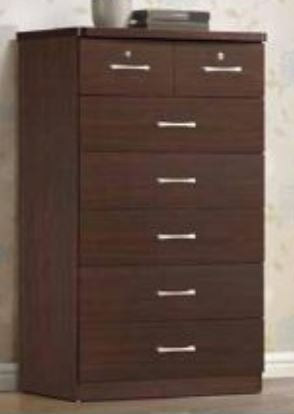 Mahogany 7 Drawer Chest - Furniture App Online by Furniture Assistant  a Furniture Store in York PA