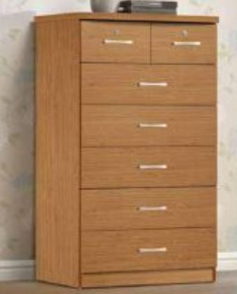 Cherry 7 Drawer Chest - Furniture App Online by Furniture Assistant  a Furniture Store in York PA