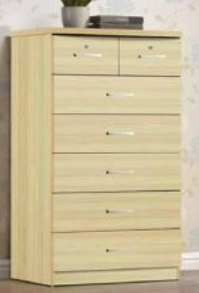 Beech 7 Drawer Chest - Furniture App Online by Furniture Assistant  a Furniture Store in York PA
