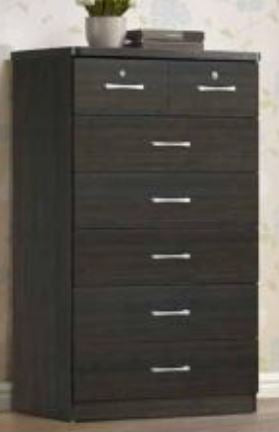 Espresso 7 Drawer Chest - Furniture App Online by Furniture Assistant  a Furniture Store in York PA