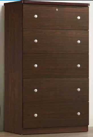Mahogany 5 Drawer Chest Jumbo - Furniture App Online by Furniture Assistant  a Furniture Store in York PA
