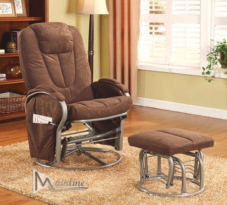 Attache Glider Chair and Ottoman - Furniture App Online by Furniture Assistant  a Furniture Store in York PA