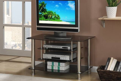 Black Glass TV Stand - Furniture App Online by Furniture Assistant  a Furniture Store in York PA