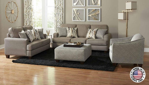 Oatmeal Sofa Set - Furniture App Online
